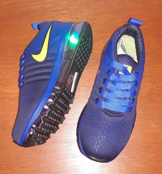 Zapatos Nike Air Max Niños Luces