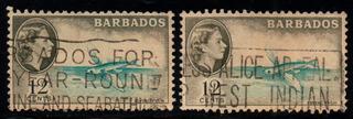 Estampillas De Barbados