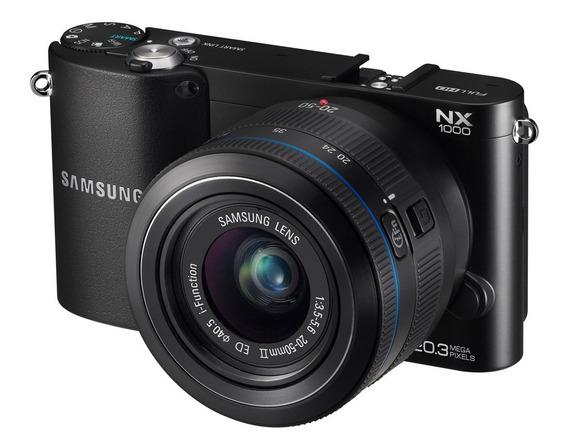 Câmera Profissional Samsung Nx 1000 + Lente! Oportunidade!