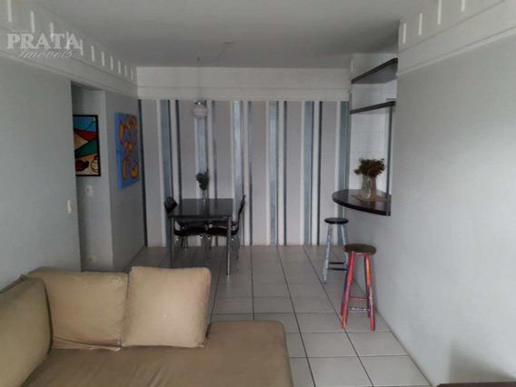 Apt 2 Dorm, Coz, Terraço,área,suíte,banheiro - Boqueirão/santos - A398175