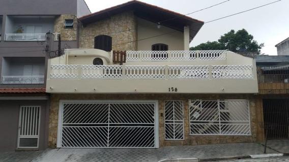Casa Com 3 Dormitórios À Venda Por R$ 800.000,00 - Vila Camilópolis - Santo André/sp - Ca0076