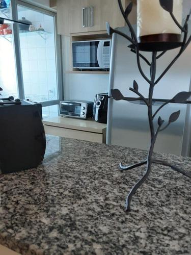 Imagem 1 de 6 de Apartamento Com 02 Dormitórios E 60 M²   Vila Pereira Barreto, São Paulo   Sp - Ap2675v