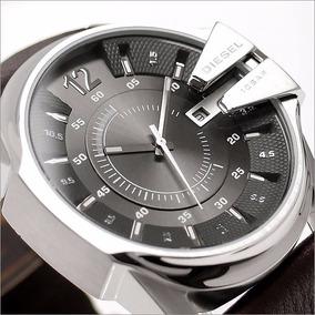 bc3c6033d6ed Reloj Diesel 10 Bar · Reloj Diesel Master Chief Dz1206 Hombre Piel Cafe De  Cuarzo