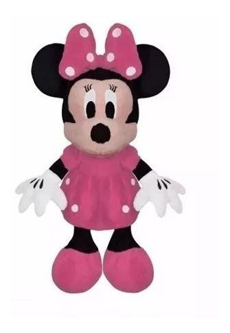 Minnie Musical Turma Do Mickey Pelucia Minnie Cor Rosa
