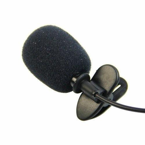 Microfone Lapela Stéreo Profissional 3.5mm P2 Lotus Lt258