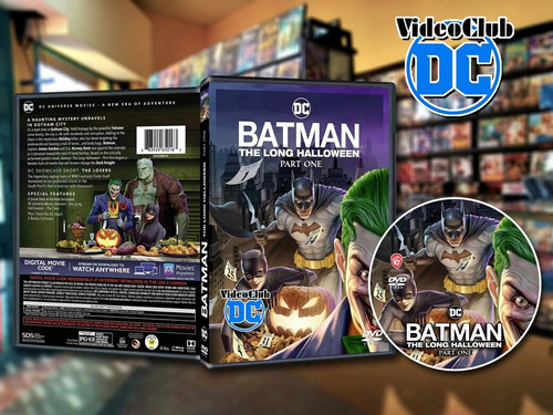 Imagen 1 de 6 de Batman The Long Halloween Part One Dvd