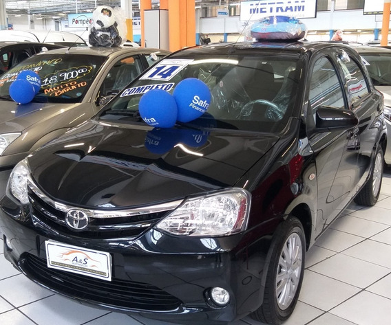 Toyota Etios Xls 1.5 Completo ***novissimo***