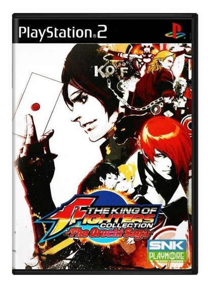 The King Of Fighters Collection The Orochi Saga Ps2 Física