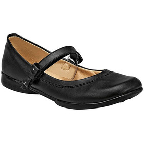 Zapatos Escolar Casual Dama Negro Yondeer Piel Udt U98293