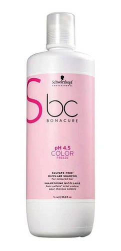 Imagem 1 de 6 de Schwarzkopf Bonacure Color Freeze Shampoo Litro Full