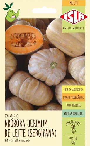 Sementes De Abóbora Jerimum De Leite (sergipana)