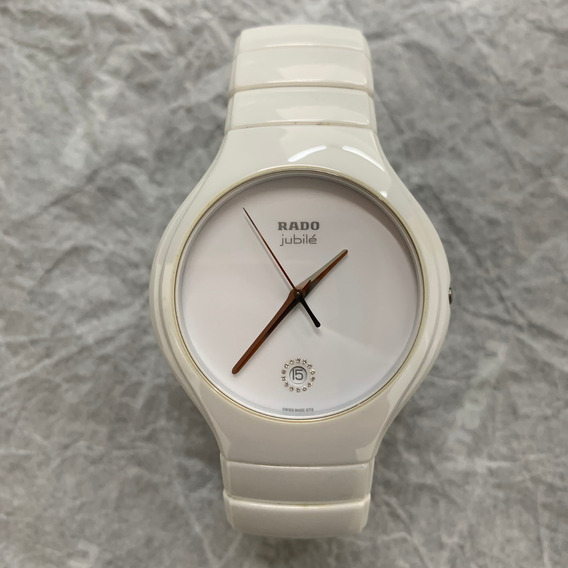 Relógio Rado Diastar Cerâmica Branco