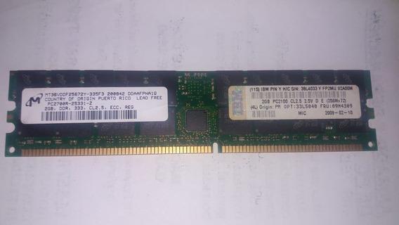 Memoria Servidores Ibm 2gb Pc2100 Fru 09n4309