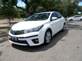 Toyota Corolla Xei At 1.8 Cvt Pack 2015 Blanco Garantía Exc