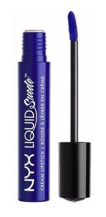 Nyx - Liquid Suede Creme Lipstick - Jet Set