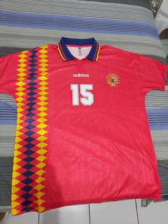 Camisa adidas Espanha Retro Modelo Copa 1994