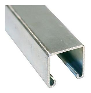 Riel Tipo Unistrut Electro/galvanizado 42x42 X 2,0 X 3 Mts.