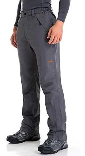 Imagen 1 de 5 de Clothin Mens Snow Pantsfleece Forrado De Esqui Pantswaterpr