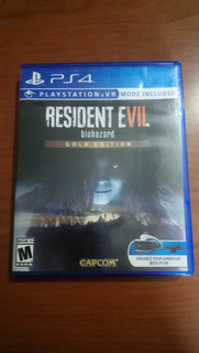 Resident Evil 7 Gold Edition Físico Ps4