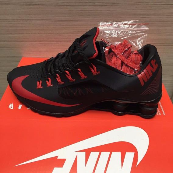 Tenis Nike Shox Superfly Preto E Vermelho Nº43 Original!