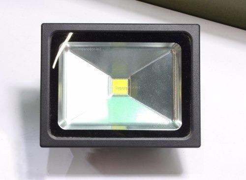 7 Refletor Led 100w Real Holofote Prova D Agua Garan 3 Anos