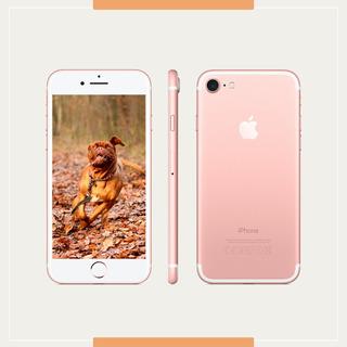 iPhone 7 Original Ouro Rosa Modelo 32gb