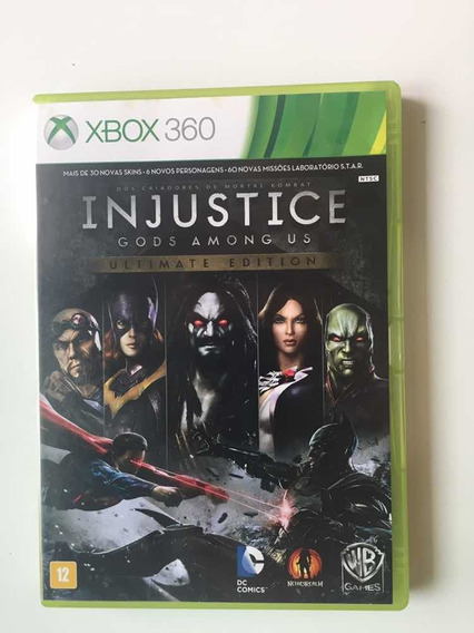Injustice Gods Among Us Ultimate Edition. Mídia Física