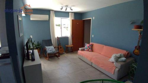 Imagem 1 de 18 de Cobertura Com 3 Dormitórios À Venda, 100 M² Por R$ 395.000,00 - Jardim América - São José Dos Campos/sp - Co0235