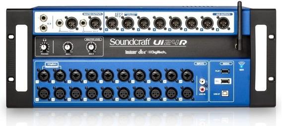 Mesa De Som Digital Soudcraft Ui24 Wi Fi Ui24r Original