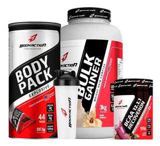 Bulk + Body Pack + Bcaa + Brinde - Body Action