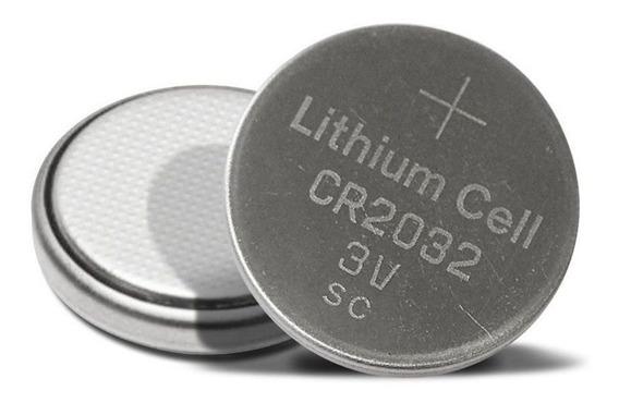 2pcs Bateria 1bt Cr2032 P/ Brinquedos Balancas Digitais