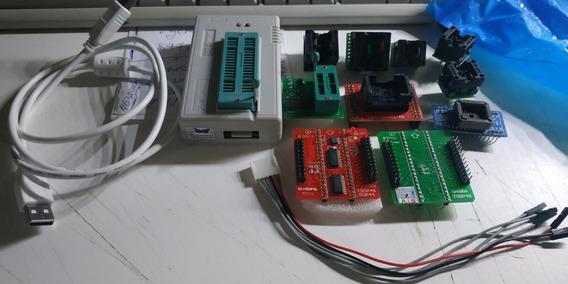 Gravador Tl866ii Plus Original Nand+eeprom+adaptadores