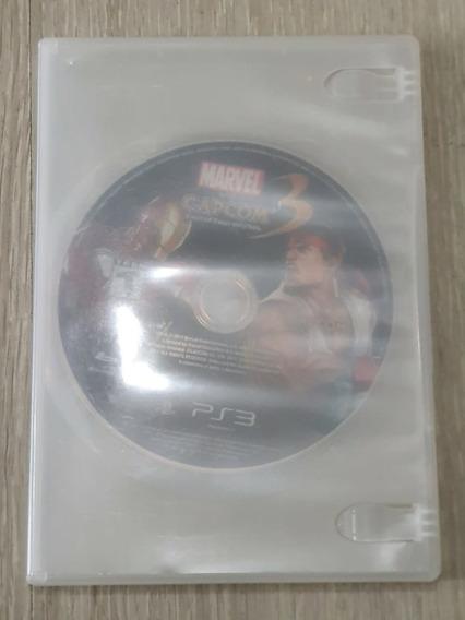 Jogo Original Ps3 Marvel Vs Capcom 3. Sem Encarte