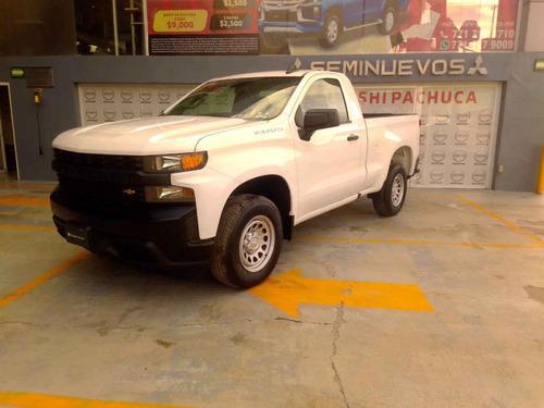 Imagen 1 de 11 de Chevrolet Silverado 2020 2p 1500 Wt Cr 4x2 A