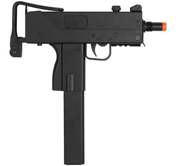 Rifle Airsoft Semi Metralhadora Elétrica M807 Micro Uzi