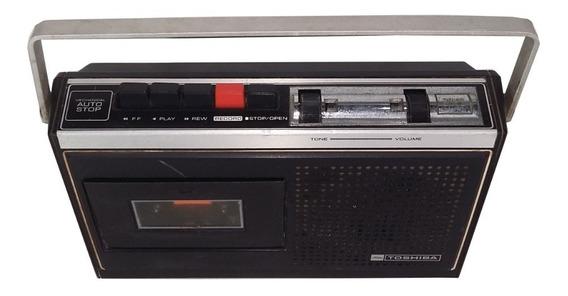 Cassette Recorder Toshiba Kt-213c Retirada De Peças