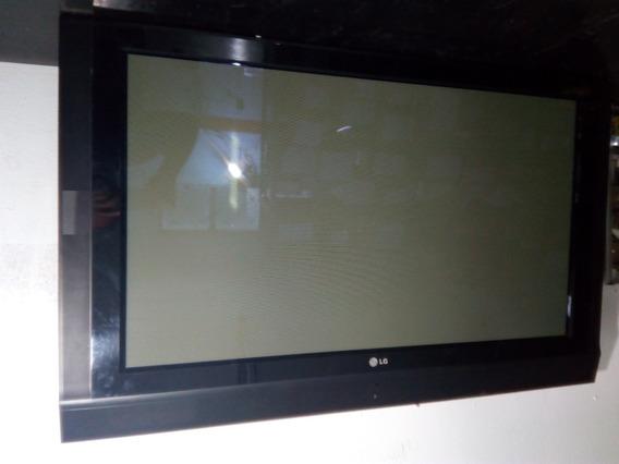 Tv Lg Mod 42pc1rv Com Defeito Na Tela Placas Ok