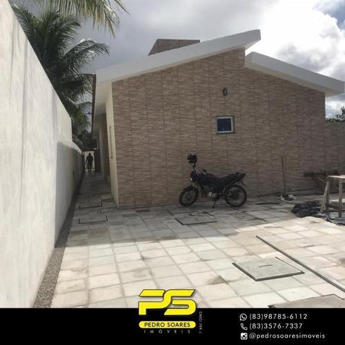 Casa Com 2 Dormitórios À Venda Por R$ 120.000,00 - Funcionários Ii - João Pessoa/pb - Ca0779