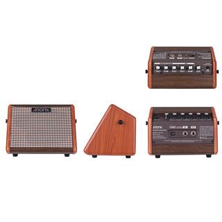 Aroma Ag -15a 15w Portátil Acústico Guitarra Amplificador Am