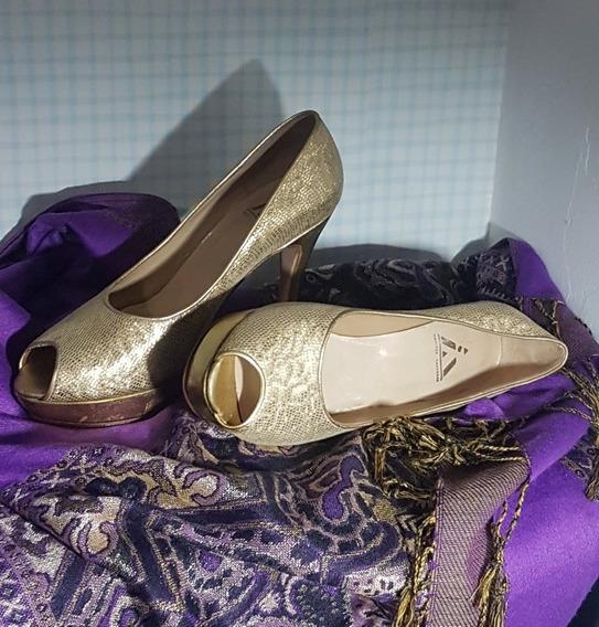 Zapatos Dorado, De Fiesta, Alonso.