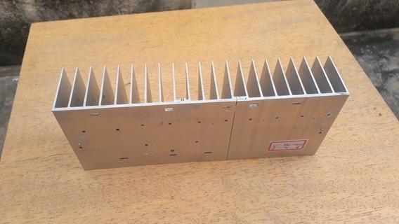 Dissipador De Calor P/ Amplificador. A:5cm/l:10cm/c:24,6cm