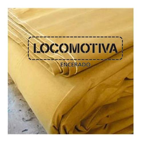 Encerado Lona Oficial Locomotiva Ilhoes1m Fio 8  4x3m
