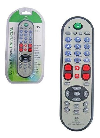 20 Controle Remoto Universal P/ Tv De Tubo/led /plasma /lcd