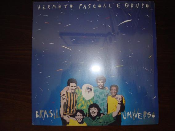 Disco Vinil Hermeto Pascoal E Grupo - Brasil Universo - 1986