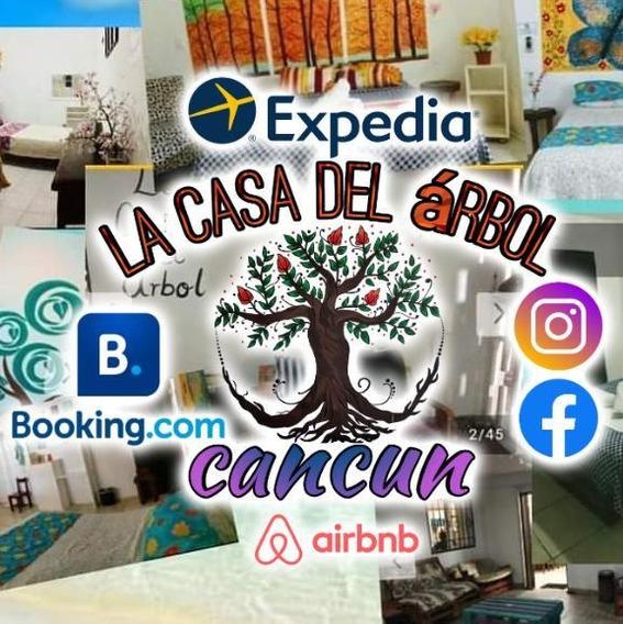 La Casa Del Árbol Cancún /zona Centrica De Cancún