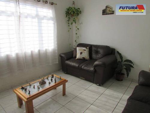 Apartamento Com 2 Dormitórios À Venda, 58 M² Por R$ 250.000,00 - Jardim Independência - São Vicente/sp - Ap1942