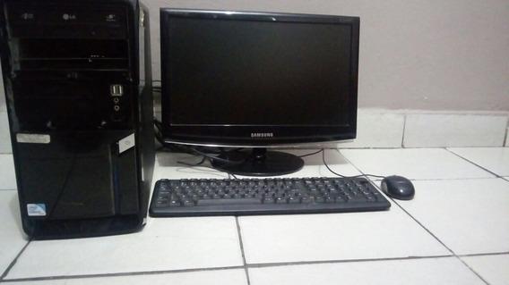Cpu Completo +monitor+teclado E Mouse