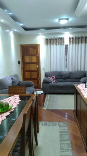 Imagem 1 de 21 de Sobrado Com 2 Dormitórios À Venda, 86 M² - Demarchi - São Bernardo Do Campo/sp - So19498