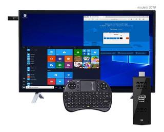 Mini Pc Intel Stick Windows 10 / 4k + Teclado 1 Año Garantia