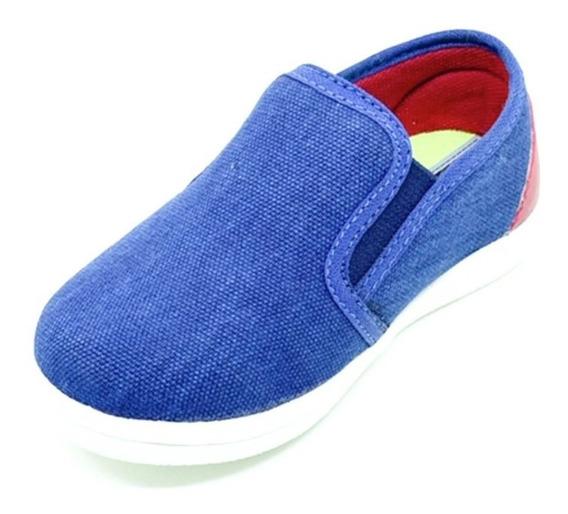 Sapatenis Slip On Infantil Jeans